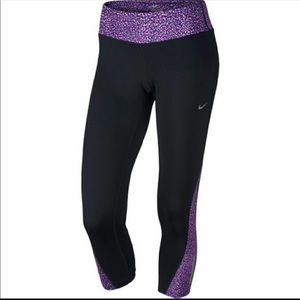 Nike racer running pants cropped leggings capri
